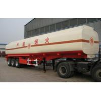 Wholesale Carbon Steel Insulated Asphalt Tank Trailer , Petroleum Tank Trailers from china suppliers