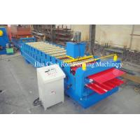 Wholesale Double Layer Roof Panel Color Steel Sheet Roll Forming Machine With 12 / 13 Rows from china suppliers