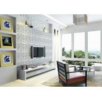 Wholesale 3D PVC Geometric Printing Wallpaper TV Background Contemporary Wall Covering from china suppliers
