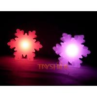 Wholesale Waterproof Snow Shape Led Mood Lamp Outdoor Led Christmas Lights Decorations from china suppliers