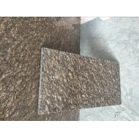 Buy cheap On Sale Counterop Tile Slab Cheap China Dyed Brown Granite Slabs&Tile from wholesalers