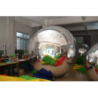 Wholesale Silver Mirror Advertising Air Balloons fireproof For Party from china suppliers