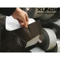 Wholesale Geotextile backed Polypropylene Fiber Woven Tape , protective pipeline coating bituminous tape from china suppliers