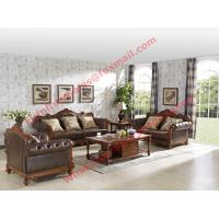 Wholesale 1+2+3 Italy Leather Upholstery Sofa Set with Wooden Tv Stand and Storage Cabinet from china suppliers