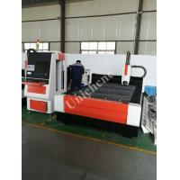 Wholesale 1300 * 2500 mm Fiber Laser Cutting Machine Sawtooth table orange and white color from china suppliers