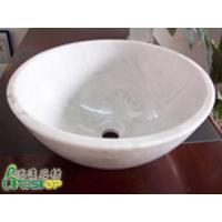 Buy cheap Guangxi White Granite Stone Sink from wholesalers