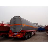 Wholesale durable 3 axle diesel oil tanker trailer for sale with tool box from china suppliers