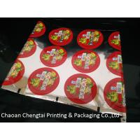 Wholesale Custom Printed Cup Sealing Packaging Film Pickle Vegetables Cup Sealer Film from china suppliers