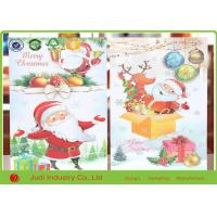 Wholesale Unique Christmas Thank You Cards Circular / Oval Seasons Greetings Cards from china suppliers