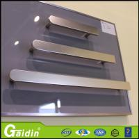 Wholesale bedroom kitchen accessories interior foggy siver aluminum furniture handle from china suppliers