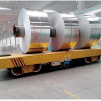 Wholesale 63 Ton Heavy Load Steel Tube Handling Flat Bed Cart For Transporting Heavy Cargoes from china suppliers