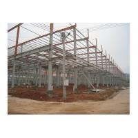 Wholesale Prefab Office Building , Steel Framing Systems With Steel Structure Galvanized Panel from china suppliers
