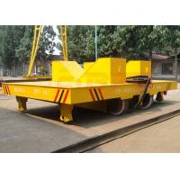 Wholesale 50t large capacity rail transfer carriage for assembly line from china suppliers