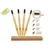 China Commercial Bamboo Charcoal Toothbrush With Customized Packing And Logo on sale