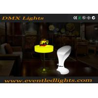 Wholesale Waterproof Led Cocktail Table Lights , RGB Full Color LED Bar Table IR remote from china suppliers