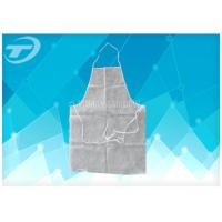 Wholesale White Color Polythene Plastic Disposable Aprons 9 X 107 Cm Waterproof from china suppliers