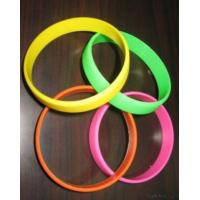 Wholesale Silicone Rubber Bracelet, Rubber Wristband, from china suppliers