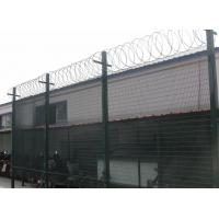 Quality Q235 Steel 358 Anti - climb ClearVu Security Fence 4.00mm , 3.00mm Diameter for sale