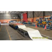 Buy cheap Galvanized Steel Roof Panel Roll Forming Machine 18 Roller Stations 8 - 10 M / Min from wholesalers
