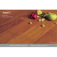 Wholesale Durable Resistant Enough Solid Wood Flooring , Customed Glossy Stability from china suppliers