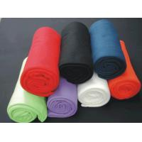 Quality Polar Fleece / Microfiber Throw And Blanket for sale