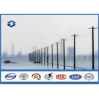 Wholesale Transmission Distribution Line Conical metal power pole AWS D1.1 Welding from china suppliers