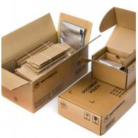 Buy cheap Brown Plain Custom Corrugated Packaging Boxes With Glossy / Matt Lamination from wholesalers