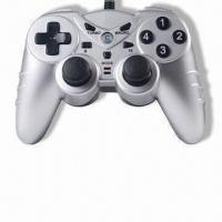 Wholesale Two-in-one PC USB Joypad with Turbo Function, Compatible with Microsoft's Xbox 360 from china suppliers