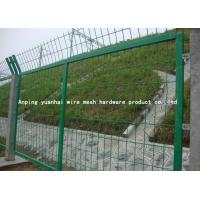 Wholesale Green Galvanised Welded Wire Mesh Panels High Anti Corrosion RAL Colors from china suppliers