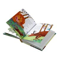 China Full Color Hardcover Children's Book Printing Customized Service A4 A5 Size on sale