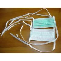 Wholesale Disposable Non woven Face Mask with tie from china suppliers