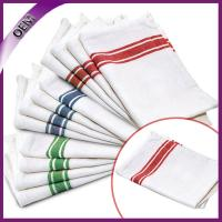 Cheap Wholesale 100% Cotton Striped Design Kitchen Towel