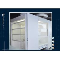 Wholesale Chemistry Laboratory Portable Fume Hood , Professional Design Face Velocity Fume Hood from china suppliers