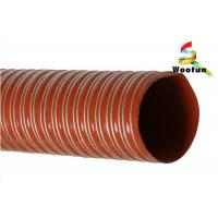 Quality Plain Cut Silicone Flexible Duct for Both High and Low Temperature for sale