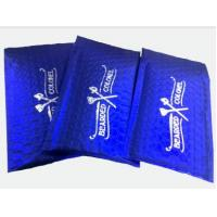 Wholesale Blue metallic padded envelopes 90MM (W) x 145MM (L) (Inner) with printing from china suppliers