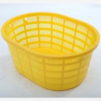 Wholesale HDPE Plastic oval-shaped Basket / Square plastic basket /Plastic Shopping Basket from china suppliers