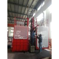 Quality Industrial Passenger Construction Hoist Elevator 2000kgs Single And Double Cages for sale