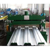 Wholesale High Speed Metal Roof Deck Forming Line , Hydraulic Tile Making Machinery from china suppliers