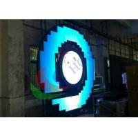 Wholesale 4mm Pixel Pitch Indoor Full Color Custom Flexible Led Display  , High Brightness Led Mesh Screen from china suppliers