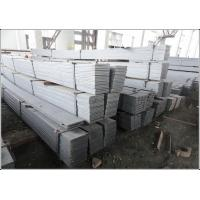 Wholesale Cutting Available Black / Galvanized Flat Bar with Flat Surface Square Edge from china suppliers