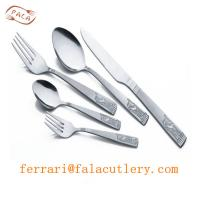Buy cheap East Africa Wholesale High Quality 24K Gold Cutlery Sets from wholesalers