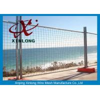Wholesale Durable Flexible Green Iron Wire Temporary Fencing Panels , Easy to Install from china suppliers