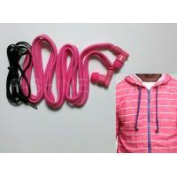 Wholesale hoodie earphone factory/manufacturer washable headphone drawcord inbuilt MP3 earphone from china suppliers