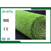 Quality PP 15mm Environmental Friendly Artificial Lawn Turf Clean Backing for sale