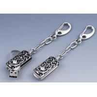 Wholesale Mini Sliver Crystal 16GB, 32GB Jewelry Usb Flash Drives U Disks Keychain for Gift from china suppliers