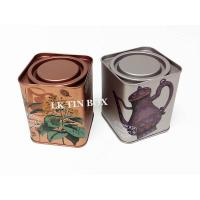 Wholesale Personalised Langdon Tea Square Tin Box For Herbal Tea Metal Storage Damp Resistant from china suppliers