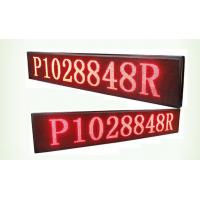 Wholesale 32*16 Resolution p10 single red Bi Color LED Display board 1/4 Scan method from china suppliers