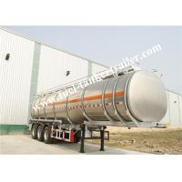Wholesale Steel Fuel Tanker Trailer / 3 Axle oil tanker truck trailer from china suppliers