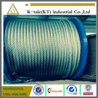 Wholesale galvanized steel wire rope used in electric hoist with good quality from china suppliers