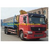 Wholesale SINOTRUK HOWO Truck Mounted Crane 6X4 RHD 12tons with warranty and spare parts from china suppliers